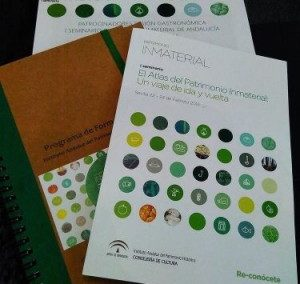 I SEMINAR INTANGIBLE HERITAGE ATLAS OF ANDALUSIA