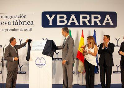 INAUGURACION NUEVA FABRICA GRUPO ALIMENTACION YBARRA